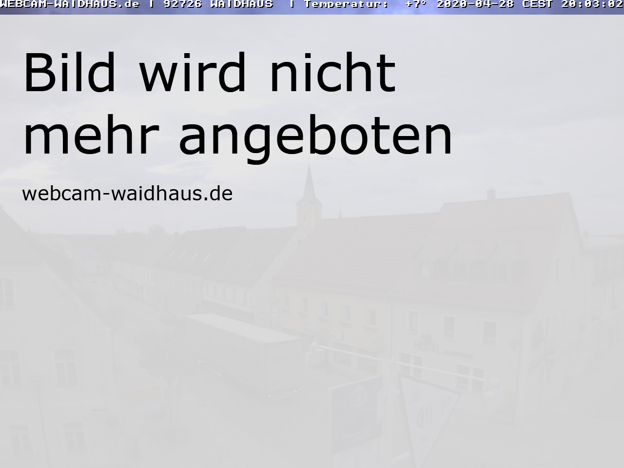 Webcam Waidhaus